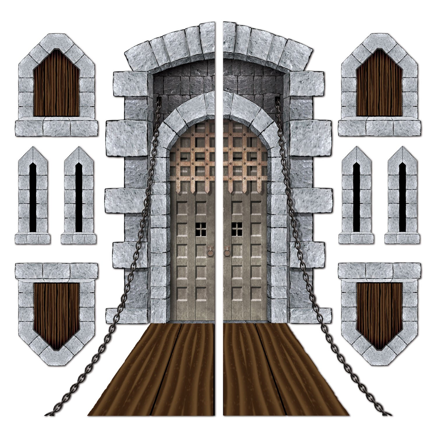 Amazon.com Castle Door \u0026 Window Props Party Accessory (1 count) (9/Pkg) Toys \u0026 Games  sc 1 st  Amazon.com & Amazon.com: Castle Door \u0026 Window Props Party Accessory (1 count) (9 ...