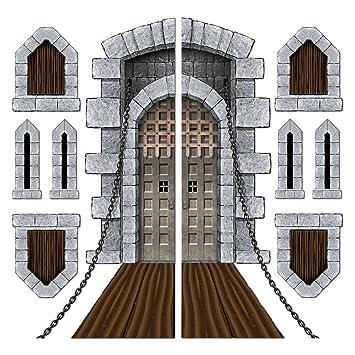 Castle Door \u0026 Window Props Party Accessory (1 count) ...  sc 1 st  Amazon.com & Amazon.com: Castle Door \u0026 Window Props Party Accessory (1 count) (9 ...
