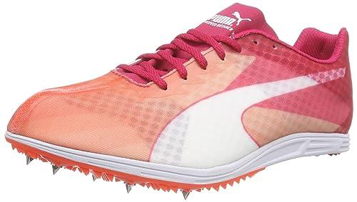 Puma Evospeed distance V6 Rose - Chaussures Chaussures-de-running Femme