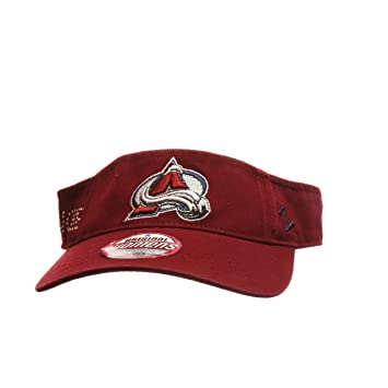 3922d1c0f42 Colorado Avalanche Women s Sparkle Visor Hat - NHL Golf Cap
