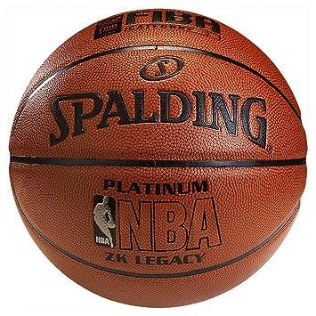 Spalding NBA Platinum Legacy - Balón de baloncesto para hombres ...