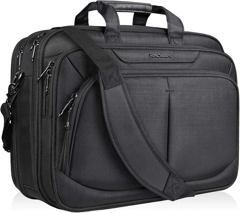 Black Laptop Shoulder Messenger Bag and Small Wire Accessories Case Set Rocket Ship Blast Off