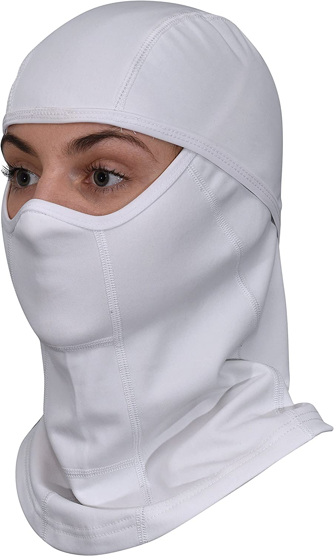 GearTOP Balaclava and Full Face Ski Mask White