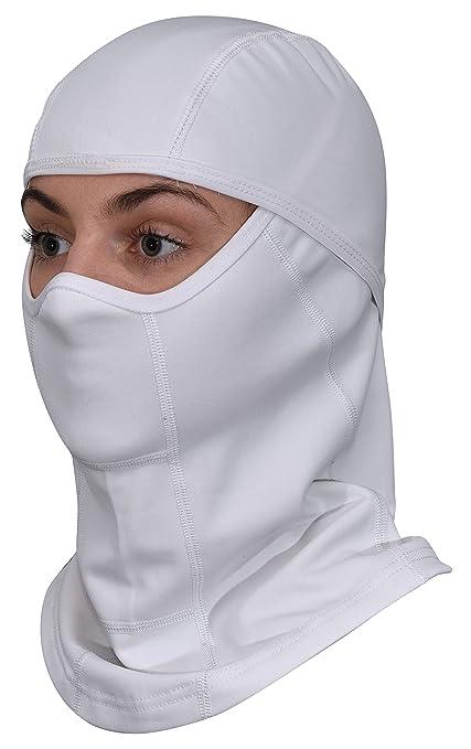 Amazon.com  White Balaclava Ski Mask - All Season Full Face Mask ... fe128596e7