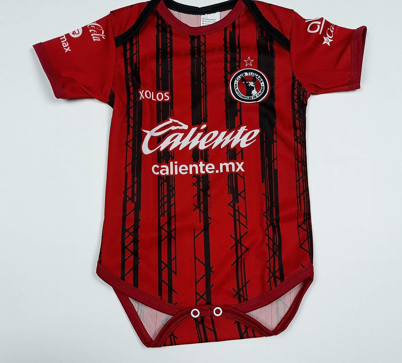 Soccer Xolos Tijuana Home Baby Jersey Baby Jumpsuit Bodysuit Futbol Liga MX