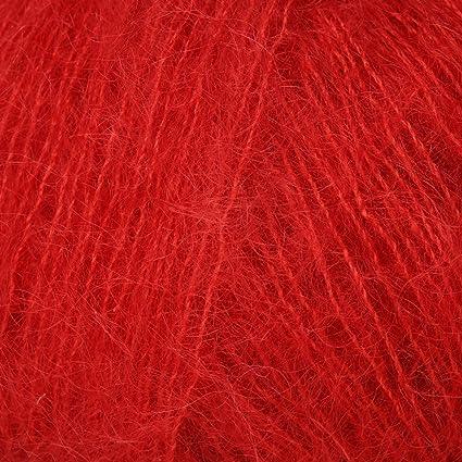 7da32659e7 LANA GROSSA Silkhair - Gomitolo di lana Mohair 8 - Kirschrot