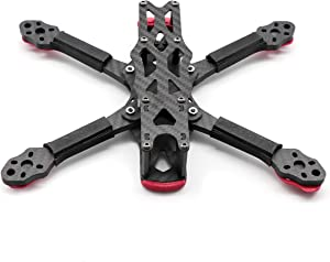 YoungRC 225mm FPV Racing Drone Frame 5 inch Carbon Fiber Quadcopter Frame Kit with 5.5mm Arm