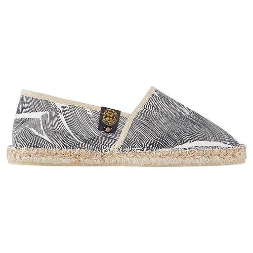 Art Of Soule | Alpargatas Planas sin Cordones - Originales y Auténticas - Fabricadas en Francia - Estampadas - Leaf Soft: Amazon.es: Zapatos y complementos