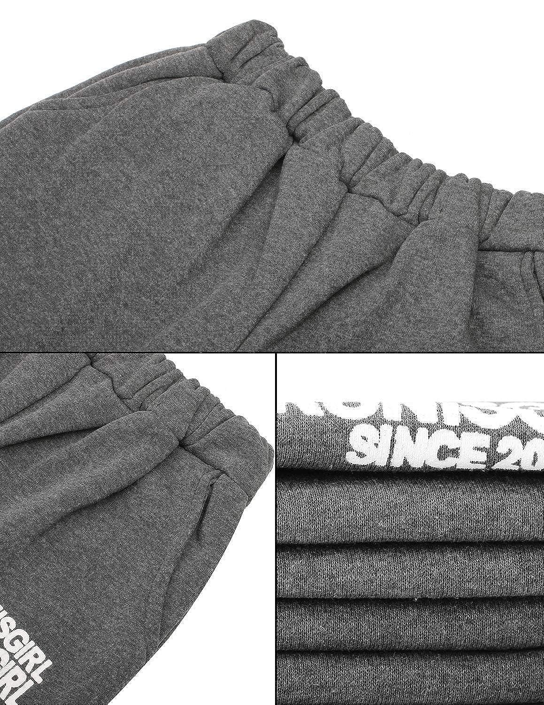 Chaleco Chaqueta PIPIHU Mujer 3 Piezas Casual Ch/ándal Conjuntos Deportivos Hoodie Abrigo Sudadera con Capucha Sweatshirt Pantalones