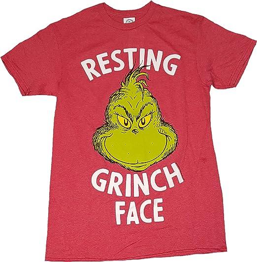 Fashion Men//Women/'s GRINCH full face 3D Print T-Shirt Short Sleeve Sasual Top