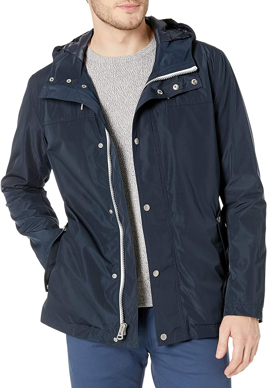 Cole Haan Signature Mens Hooded Rain Jacket