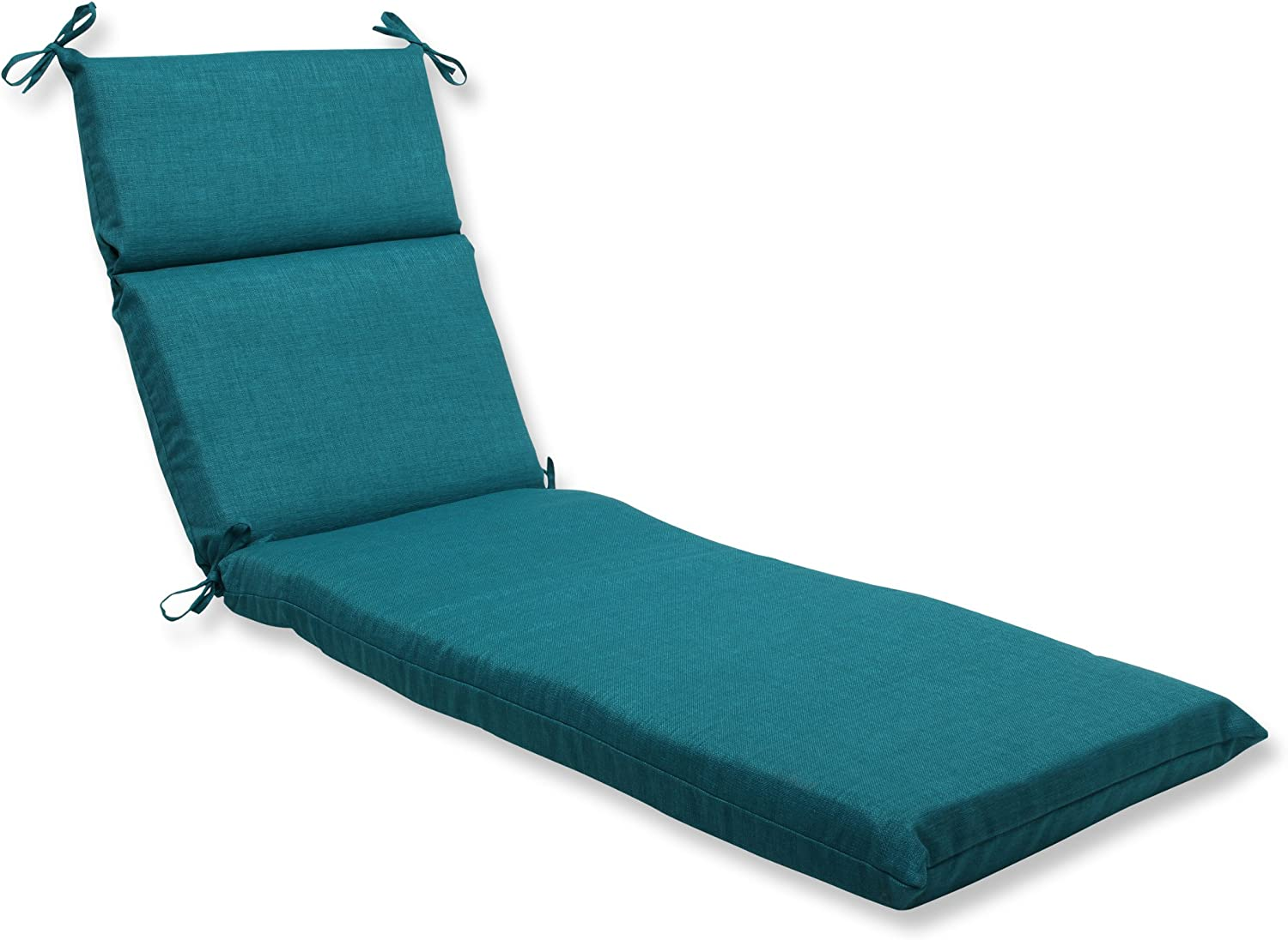 - Amazon.com: Pillow Perfect Outdoor Rave Teal Chaise Lounge Cushion