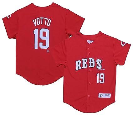 huge discount 1e94b 097b0 Joey Votto Cincinnati Reds Youth Player Fashion Jersey