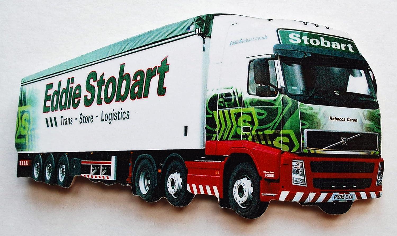 Eddie Stobart Jumbo Fridge Magnet Green ES-J