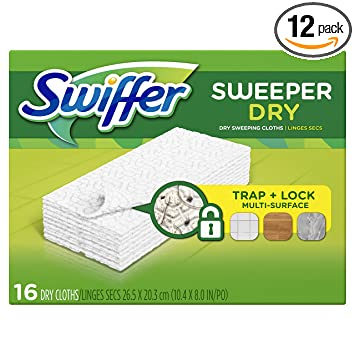 Amazon Swiffer Sweeper Dry Sweeping Pad Refills Hardwood Floor