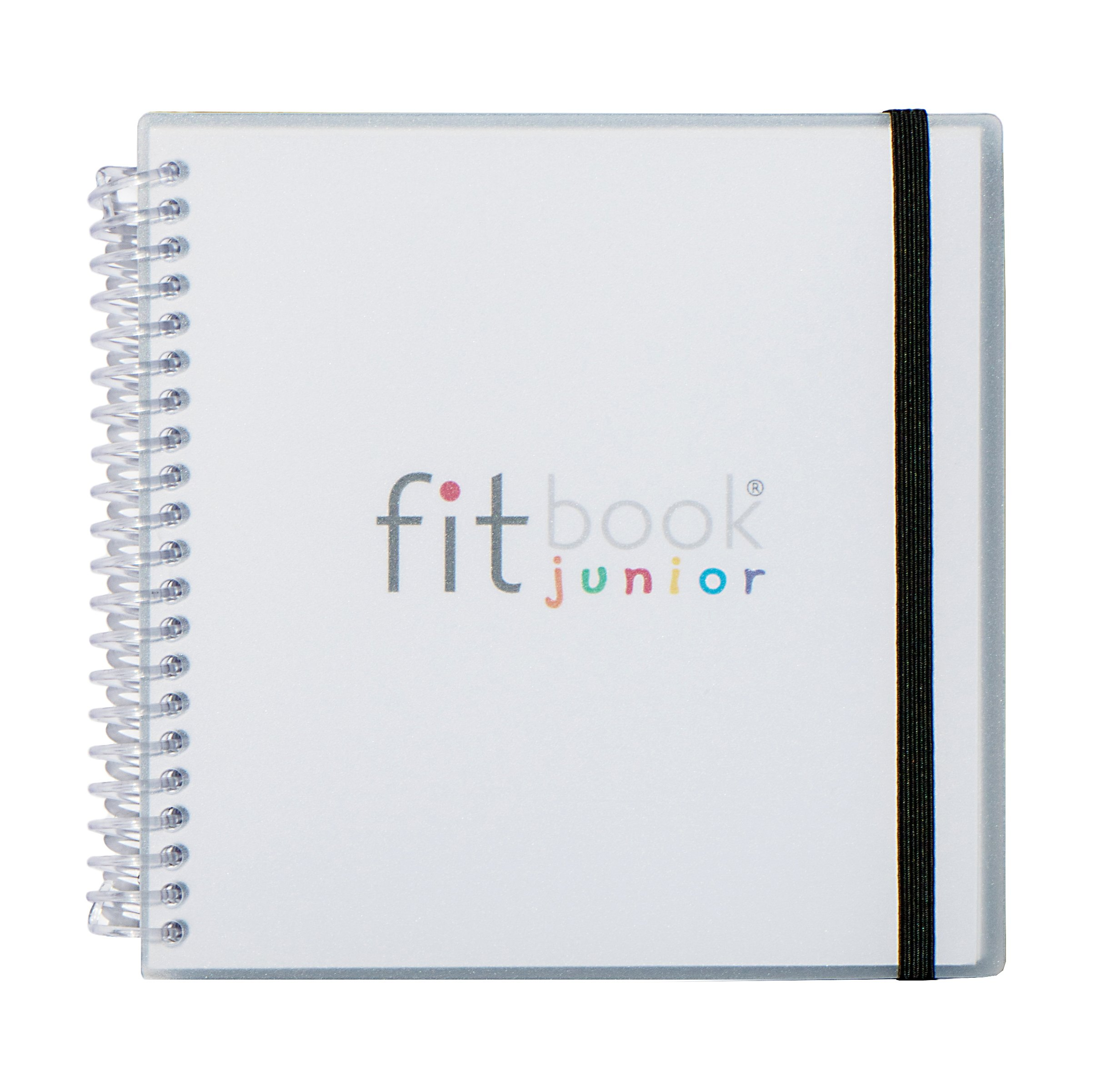 Fitlosophy Fitbook Fitness and Activity Journal for Kids, 5.5'' W x 5.5'' L