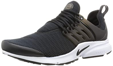 Nike Womens Air Presto Black/Black/White Running Shoe Sz, 6 B(