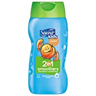 Suave Kids 2 in 1 Shampoo and Conditioner, Peach Smoothers, 12 oz
