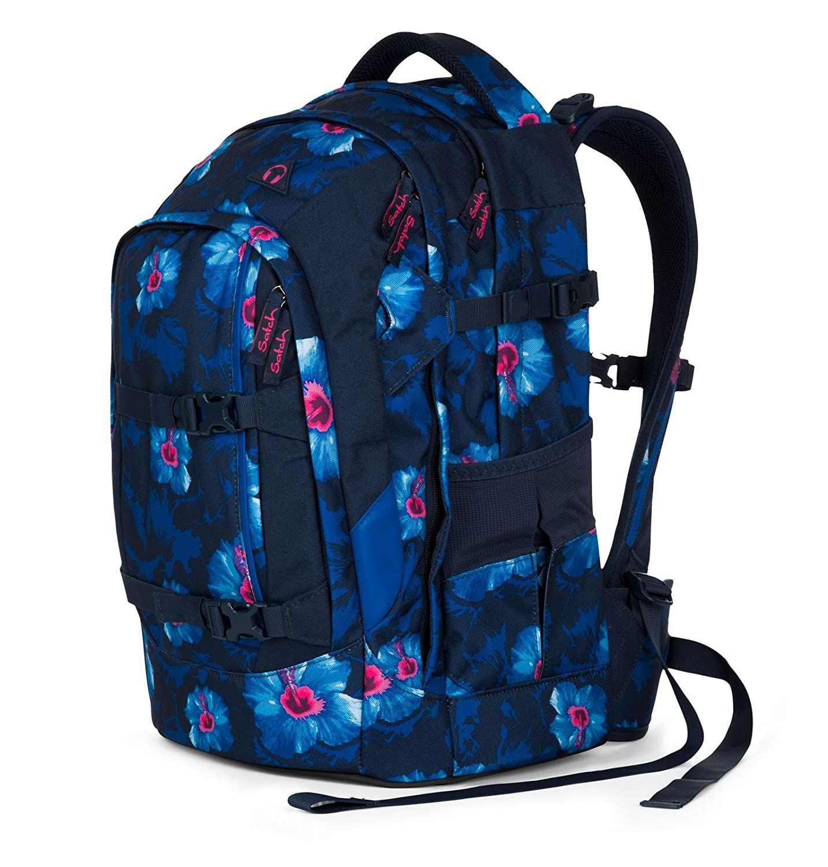 370f7e99610e0 Satch Schulrucksack-Set 3-TLG Pack Waikiki Blue blau  Amazon.de  Koffer