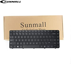 SUNMALL Laptop Keyboard Replacement for HP Pavilion G4-1000 G6-1000 CQ43 G43 CQ43-100 CQ57 CQ58 430 2000 1000 240 G1 245 G1 246 G1 255 G1 250 G1 Compaq 430 431 630 631 636 450 455 650 655 US Layout