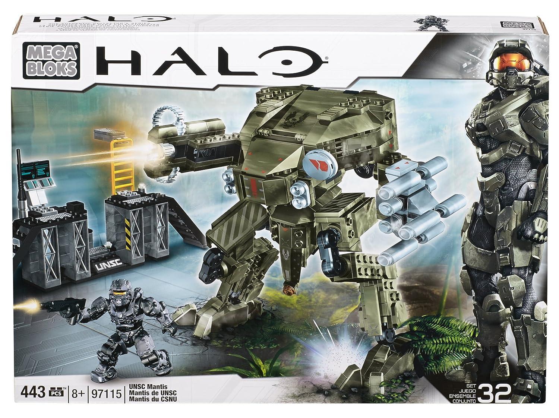 443 Piece Model 97115 Mega Bloks Halo UNSC Mantis