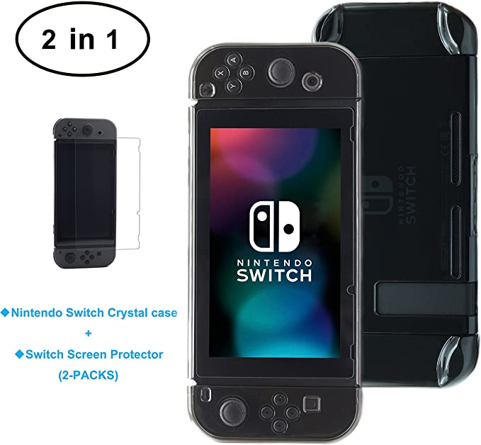 Nintendo Switch Cover Case, Hard Case Cover for Nintendo Switch + ...