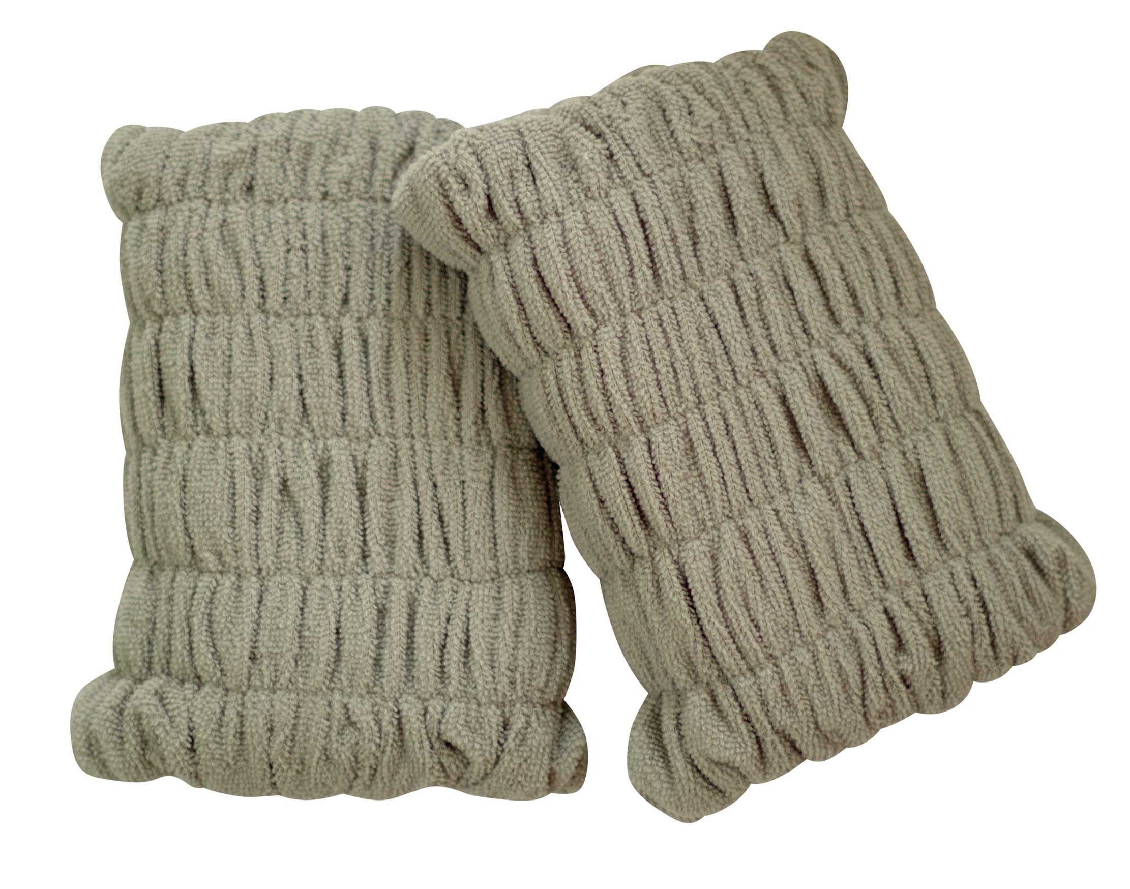 Pull-On Knee Cushions Wear The Pair! (Gray)