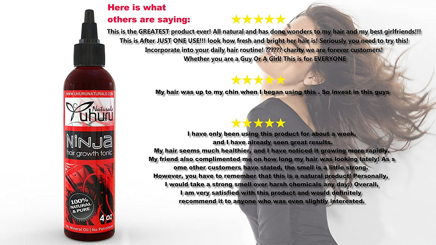 Our Best Selling, Effective, Natural Fast Long Hair growth product & Natural Cure For Hair Loss