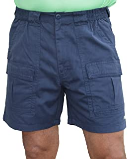 Bimini Bay Outfitters Outback Hiker Cotton Cargo Short 31201 Blue ...