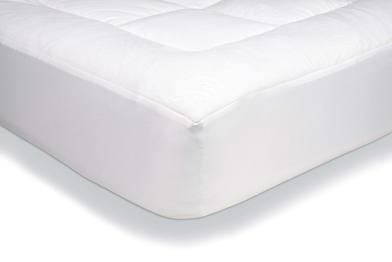 AmazonBasics - Protector de colchón acolchado con tejido micropolar ...