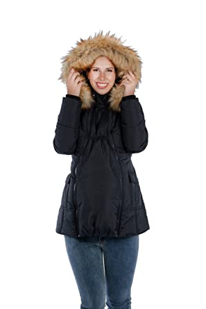 dc93a1543a4d9 Modern Eternity Maternity Jacket Quilted 3 in 1 Technology by at ...