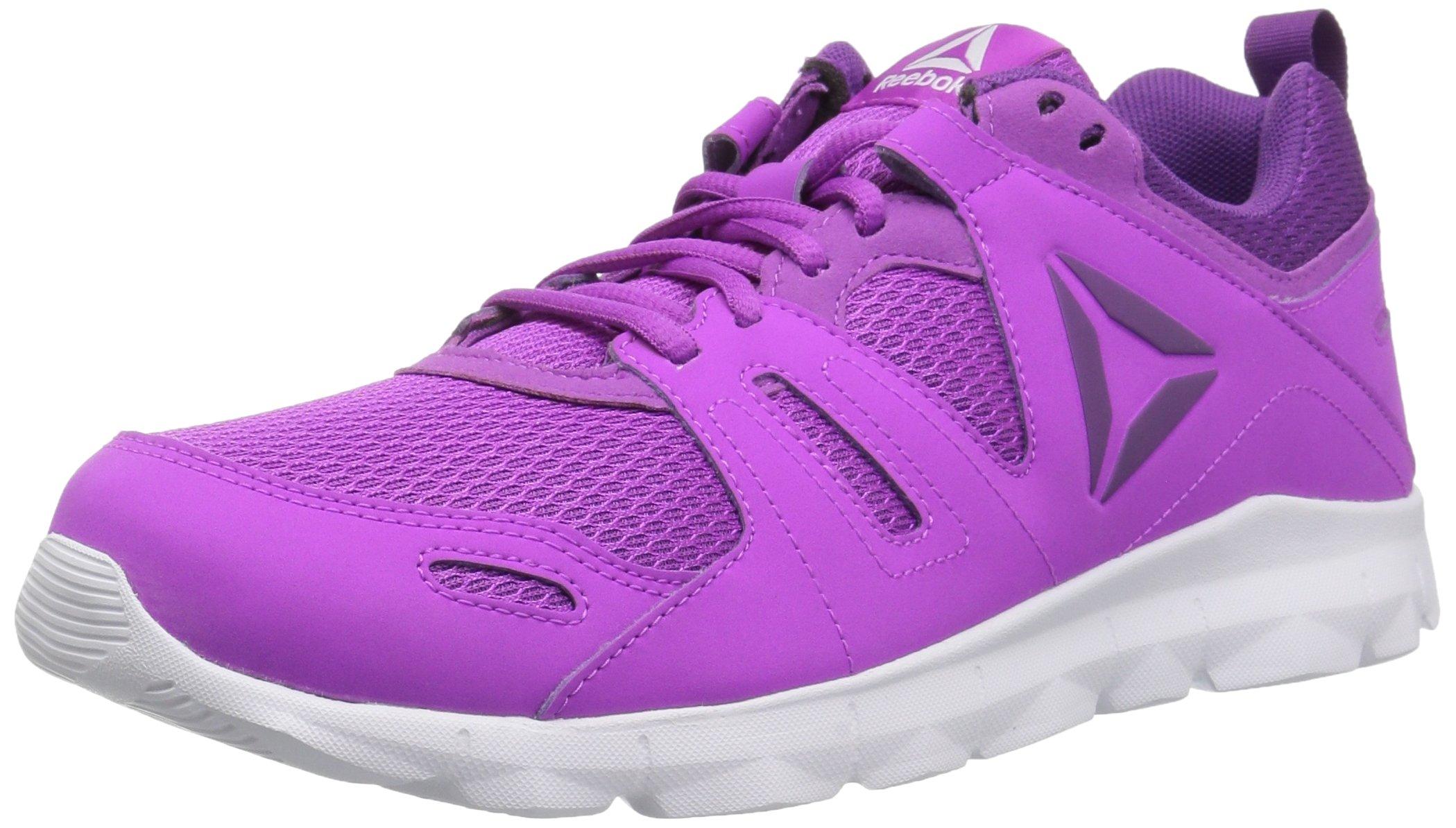 Reebok Women's Dashex TR 2.0 Track Shoe, Vicious Violet/White/Aubergine, 10 M US