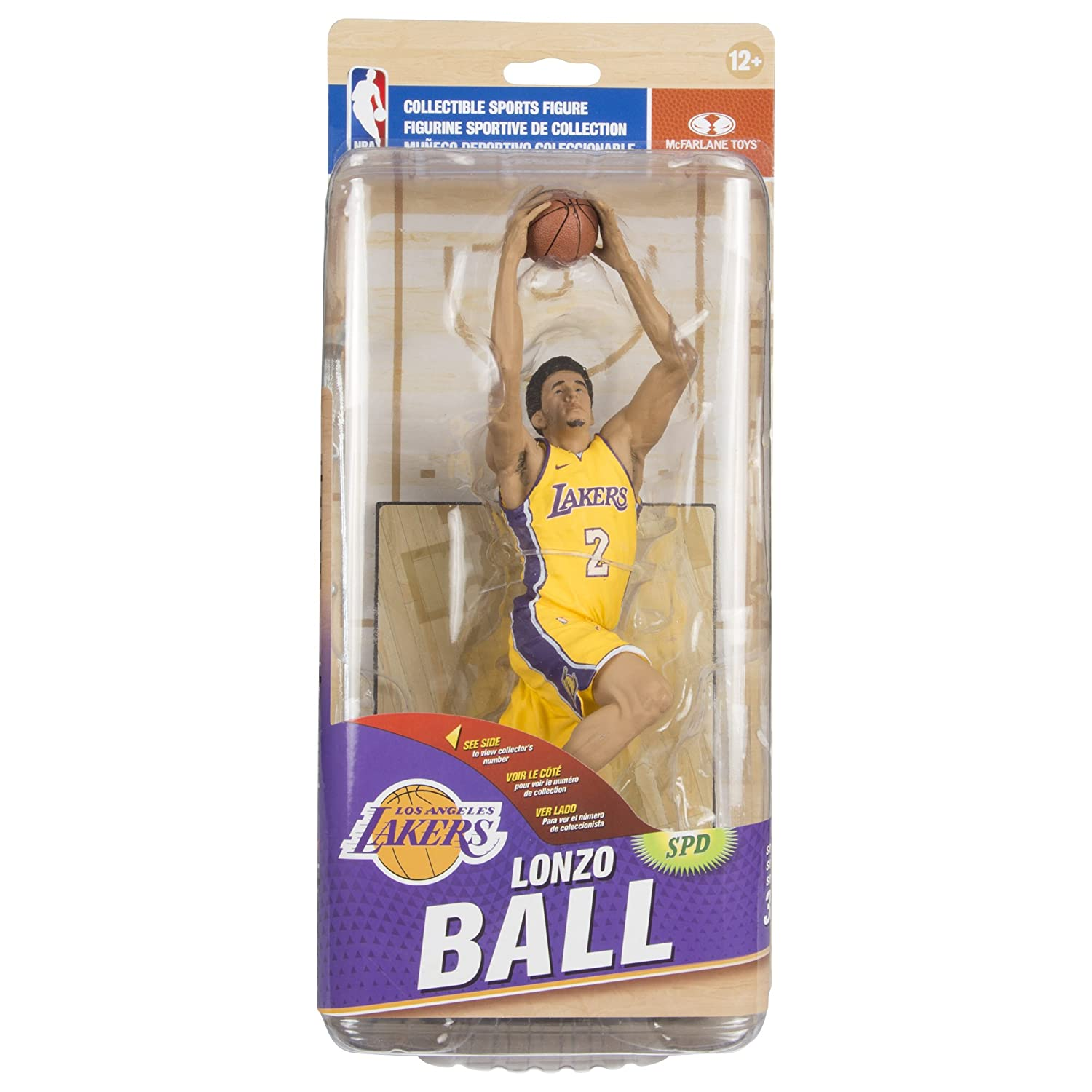 McFarlane Toys NBA Series 32 Lonzo Ball Los Angeles Lakers Action Figure