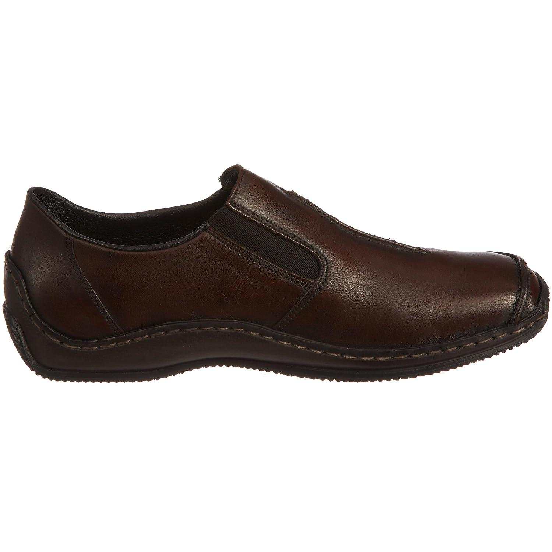 Rieker Celia L1751 Brown Ladies Loafers B002H96TGG 37 M EU|Brown Leather