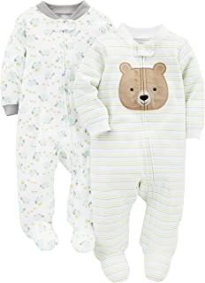 Simple Joys by Carters Baby Jungen Langarm-Body 5er Pack