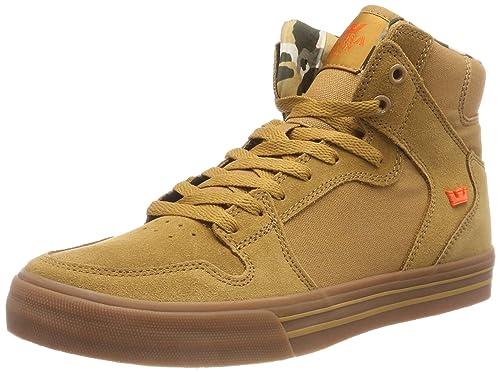 de5098178cd Supra Mens Vaider Tan Lt Gum Shoes Size: Amazon.ca: Shoes & Handbags
