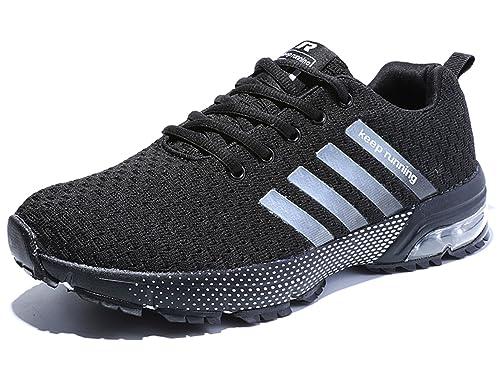 Sollomensi Zapatos para Correr en Montaña y Asfalto Aire Libre y ...
