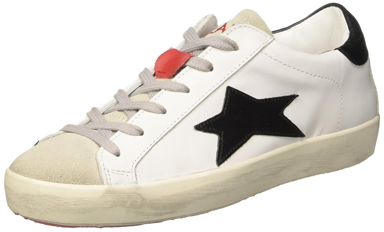ISHIKAWA Low, Sneakers Basses Mixte Adulte - Blanc - Bianco, 43 EU EU:  Amazon.fr: Chaussures et Sacs