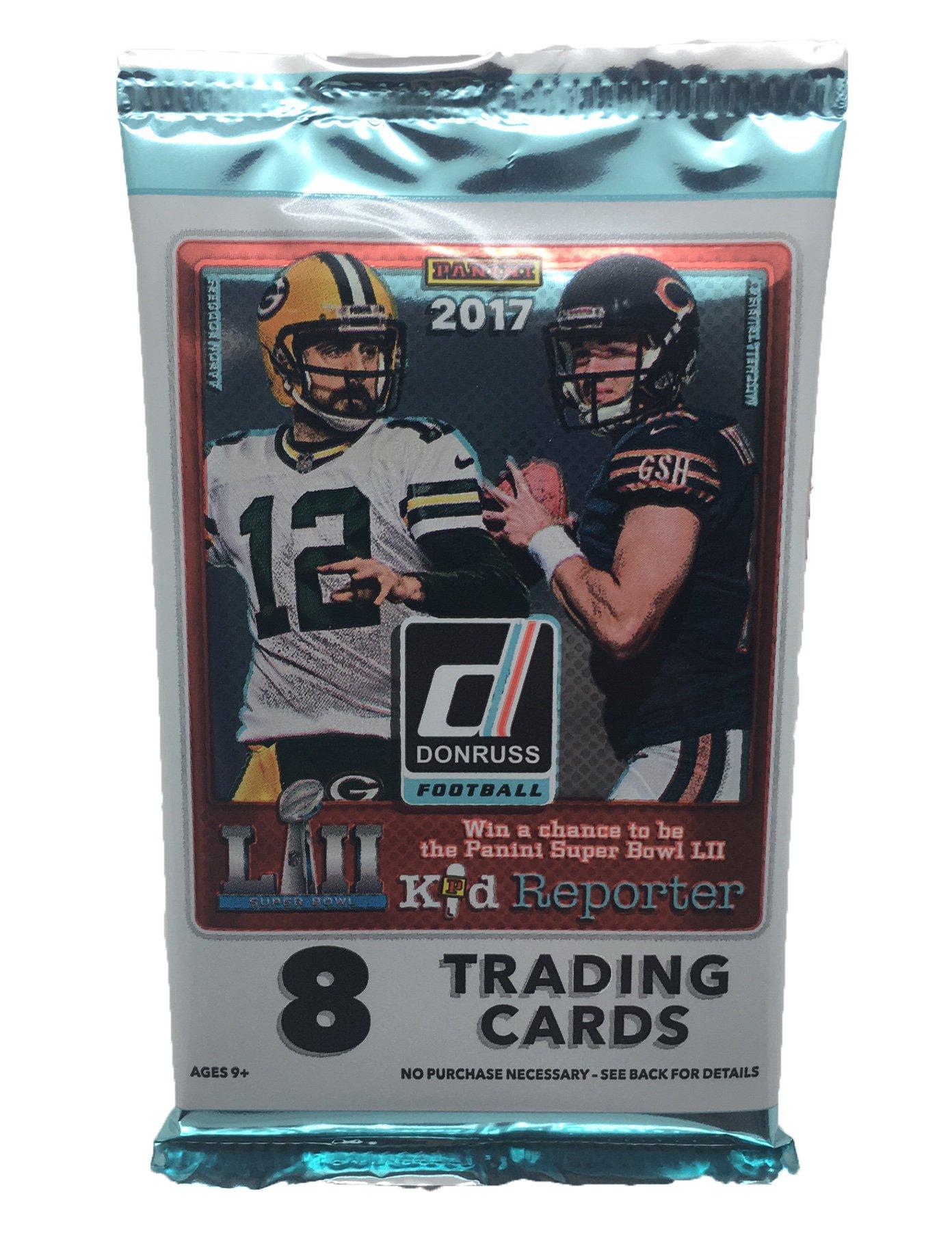 2017 NFL Donruss Football Cards Factory Sealed Panini Retail Box!