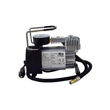 Ferrestock FSKCOM002 Mini Compresor de Aire Reforzado, 12V: Amazon.es: Coche y moto