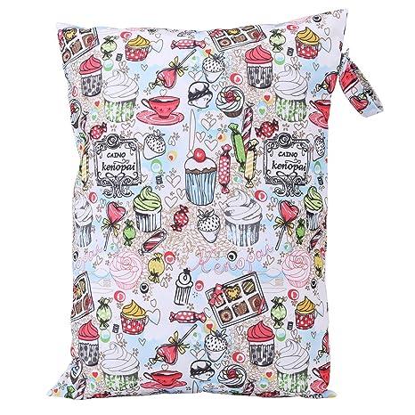 Bolsa para pañales de pañales de tela impermeable y mochila para bebé de gran capacidad para bebé con cremallera para bebé niño niños adultos, (#1)