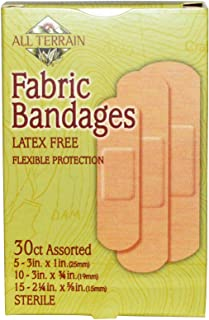 product image for All Terrain, Fabric Bandages Assorted 30 Bandages