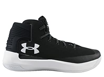 bafbaff3c098d Under Armour Men s Curry 3 Basketball Shoe BLK WHT WHT 7.5 D(M