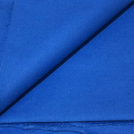 Flor Márquez - Tela de Algodón Lisa por Metros - Tejido Órganico de Excelente Calidad - Costura y Manualidades - Color y Medidas: (Azul, 1,50 x 3,00 mts): Amazon.es: Hogar