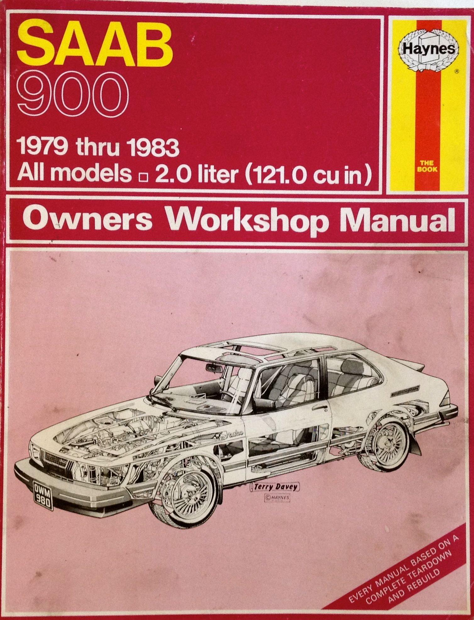 saab owners workshop manual models covered us saab 900 900 s rh amazon com 1983 Saab 900 Turbo 1983 Saab 900 Turbo
