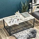 SONGMICS Coffee Table Storage Shelf for Living