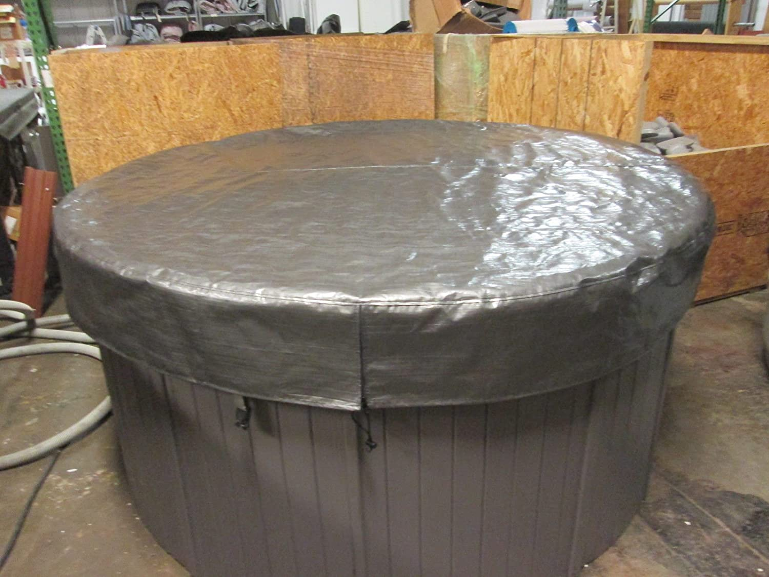 Spa Hot Tub Cover Cap SunShield/® 84 Round Nordic Video How To