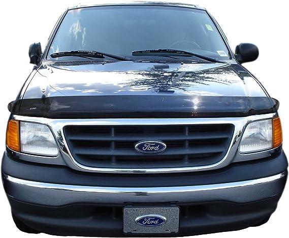 For Ford F-150 1997-2003 AVS 322012 Aeroskin Smoke Hood Shield