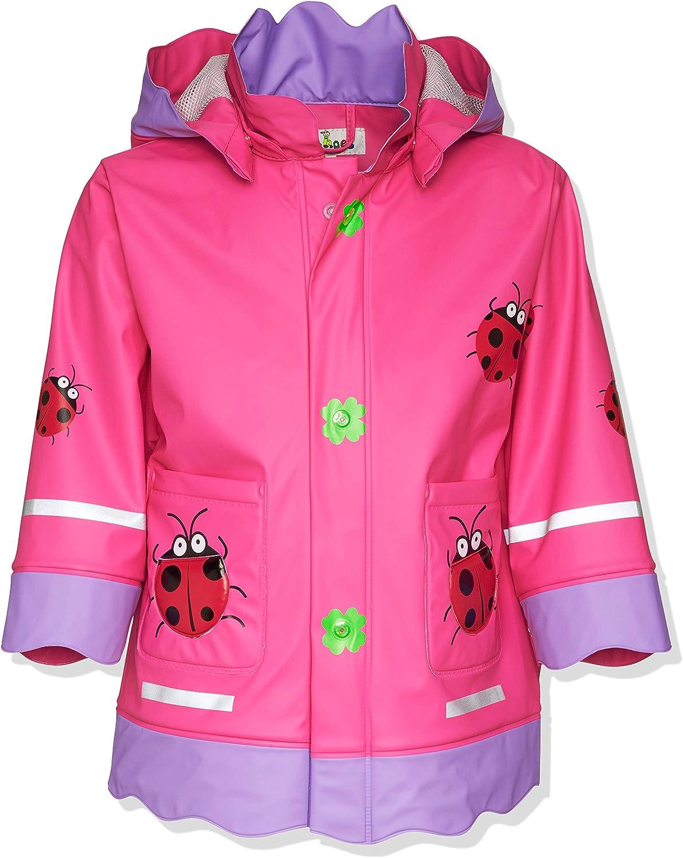Mädchen Regenjacke Matschjacke Buddeljacke Jacke 86-128 Winddicht Wasserdicht