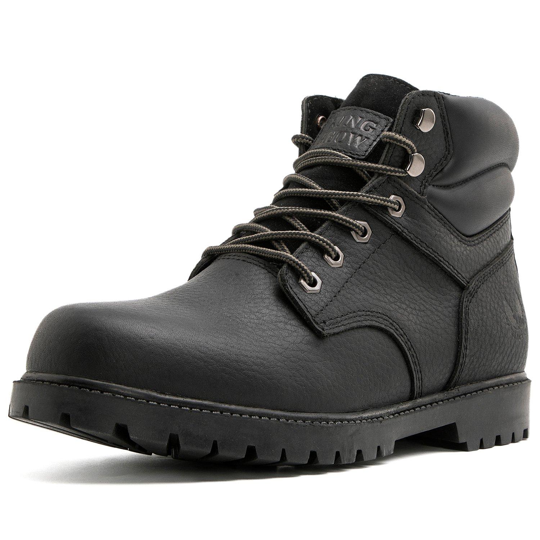 bd7a22e4a59 KINGSHOW Men's 1366 Water Resistant Premium Work Boots